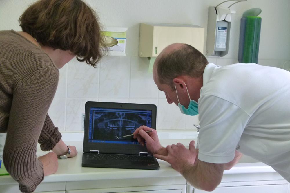 Zahnarztpraxis Voigtländer, Digitales Röntgen