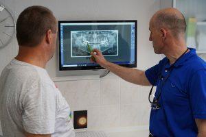 Digitales Röntgen und Zahnersatz
